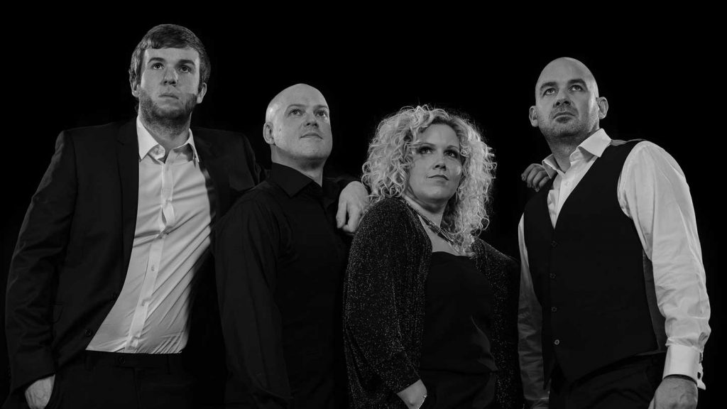 Band for Hire | North West | Cheshire | Wales | Yorkshire | Capone Function Band B&W